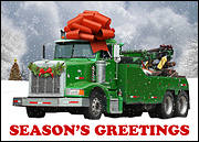 Wrecker Greeting Card